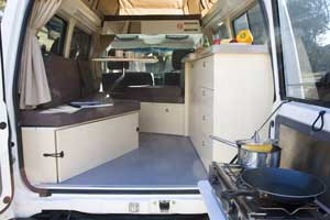 Captain Billy's 4WD Hire - Bush Camper